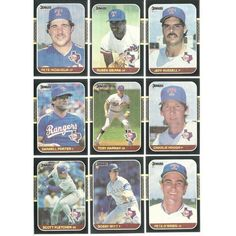 1987 Donruss Differrent Baseball RANGERS complete team 27 set cards lot 8 RCs Listing in the 1980-1989,Sets,MLB,Baseball,Sports Cards,Sport Memorabilia & Cards Category on eBid United States | 147730144