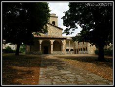 The Pieve of Carpegna (Italy-Le Marche region-Pesaro Urbino province)