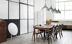 Modern space with BeoPlay A9