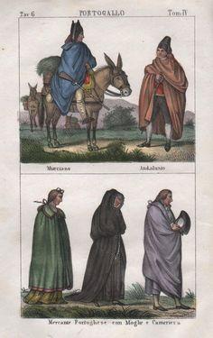 1840-Portugal Espana Murcia Andalucia costumes Trachten litografía  http://www.ebay.es/itm/1840-Portugal-Espana-Murcia-Andalucia-costumes-Trachten-Lithographie-/351616253854?ssPageName=ADME:B:SS:ES:1120