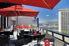 Image result for radisson red hotel roof terrace