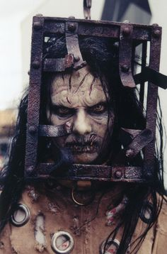 The Jackel from Th13teen Ghosts. This movie scared the unholy CRAP out of me when i was younger.