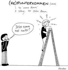 Daily Deutsch : runterkommen