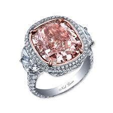 Light pink wedding ring... perfection. :)