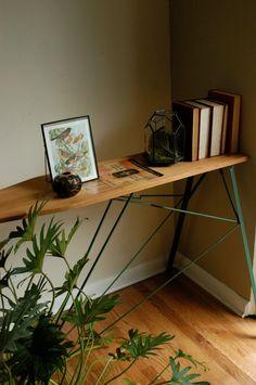 Vintage Wood Ironing Board.