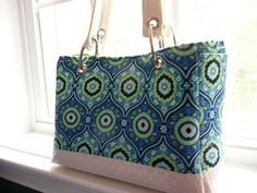 FREE SHIPPING! Maddie Bag  Bright Blue by DesignHerStyles on Etsy, $119.00