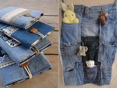 jeans reutilizado
