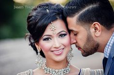 California Sikh Wedding by James Thomas Long Photography - Indian Wedding Site Home - Indian Wedding Site - Indian Wedding Vendors, Clothes, Invitations, and Pictures. Sikh Wedding, Wedding Vendors, Wedding Ideas, Punjabi Wedding, Wedding Receptions, Wedding Hair And Makeup, Bridal Makeup, Hair Wedding, Hair Makeup
