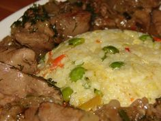 Hungarian Recipes, Hungarian Food, Mashed Potatoes, Main Dishes, Food And Drink, Beef, Ethnic Recipes, Oven, Whipped Potatoes