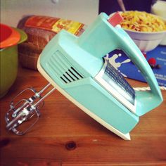 Vintage Retro General Electric Hand Mixer by TheArticle on Etsy,