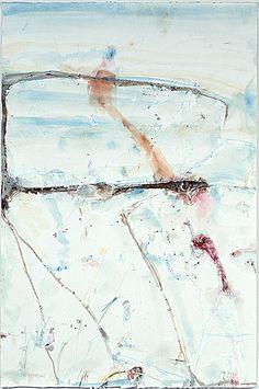 Lake Eyre Salt Crust   John Olsen 2004