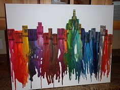 i want to do this with all red black, and gray crayons