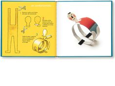 Make your own circus characters - a contortionist! 'Crea tu circo' by the wonderful Isidro Ferrer