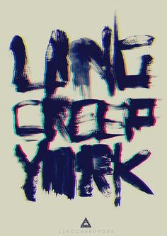 LingCreepYork Grunge Typo (Water Touch Edition) | Flickr - Photo Sharing!