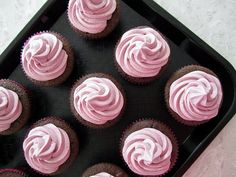 Oh Stella! How I love you. Red Wine Cupcakes: Have Your Cake And Eat It Too!