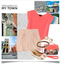 """""""Trending in My Town - Puerto Rico"""" by angelie-14 ❤ liked on Polyvore"""