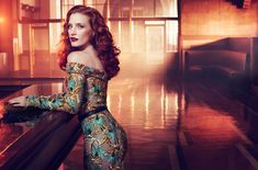 Jessica Chastain - Vogue Italy 2012 Photoshoot