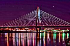 Bond Bridge Missouri River  Kansas City, MO