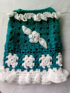 Crochet Chihuahua Sweater Dog Clothing Dog Apparel by sebsurer