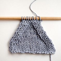 Learn how to knit symmetric decreases when decreasing on the inside