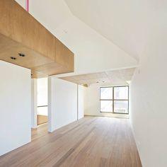 白砂孝洋建築設計事務所 の モダンな 寝室 入間の家