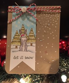 Let it Snow  by Donna Sledzikby the Memory Box Design Team