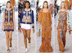 Tory Burch Spring/ Summer 2017 Collection – NYFW