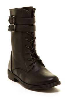 Elegant Footwear Yency Lace-Up Boot by Non Specific ~ $27.00!