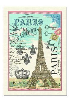 Paris Kitchen Towel – Loves Creation