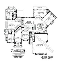Plan 48022FM For the Wide Lot Ranch house plans and House