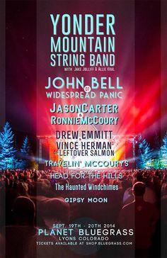 Yonder Mountain String Band Planet Bluegrass