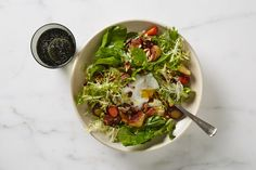 Bistro Salad with Roasted Vegetables Recipe