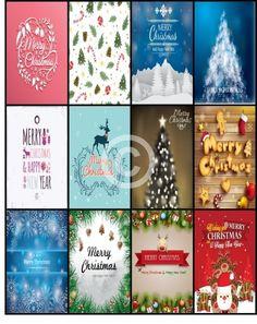 Free Printable-Happy Planner Sticker Sheet Christmas