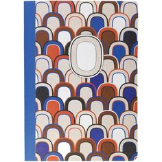 Diptyque Blue Scales A5 Notebook found on Polyvore