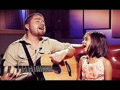 Jorge  Alexa Narvaez, a father/daughter combo, cover Jason Mraz, and show what a parent looks like.  My husband will be a dad like this one day.  :)