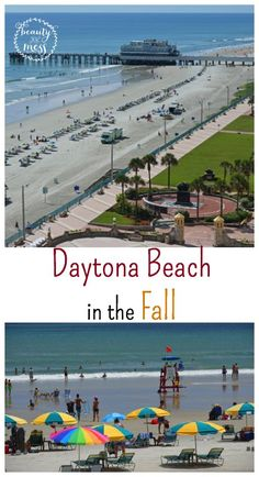 Daytona Beach in the Fall.  Living in North Carolina, Fall isn't usually super cold until November. But the beaches pretty much close down after Labor Day. That's when we realized if we wanted a beach vacation in the Fall, we had to travel to Florida, specifically Daytona Beach. Why Daytona Beach?  Here is why...