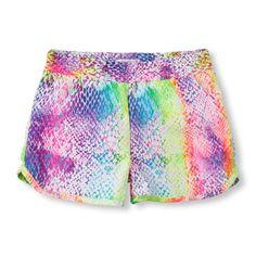 rainbow board shorts