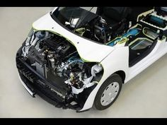 Hybrid Air Car from PSA Peugeot Citroen (video) Citroen Concept, Concept Cars, Compressed Air Engine, Peugeot 2008, Fuel Cell Cars, Air Car, Eco Friendly Cars, Electric Cars, Electric Vehicle
