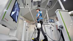 #Toyota présente un appareil robotisé pour personnes ayant des difficultés à se déplacer - RTBF: RTBF Toyota présente un appareil robotisé…