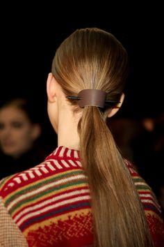 Derek Lam Fall 2015: Hair Accessories