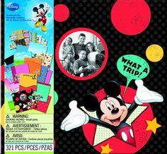 EK Success Brands Disney Scrapbook Kit, Mickey Travel:Amazon:Arts, Crafts & Sewing