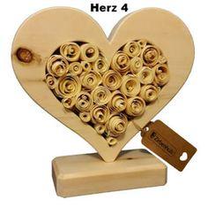 Zirben Holz Geschenke zur Hochzeit, Valentinstag, Muttertag