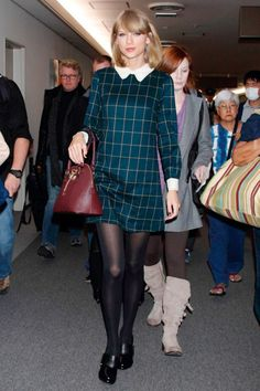 13 Ways to Ace School Girl Style like Taylor Swift via Brit + Co.