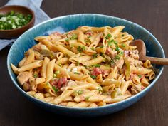 Get One-Pot Cajun Chicken Pasta Recipe from Food Network chicken recipes One-Pot Cajun Chicken Pasta Cajun Chicken Pasta, Chicken Pasta Recipes, Chicken Stovetop, Pasta Recipies, Pasta Meals, Chicken Alfredo, Chicken Meals, Chicken Curry, Pollo Cajun