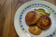 Cumin Spiced Salmon Patties (gluten, grain, dairy free) // canned salmon. coconut flour. for SCD try squash