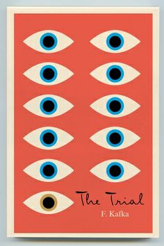 trial   Peter Mendelsund gets to create a complete new set of covers for the Schocken Books Franz Kafka backlist