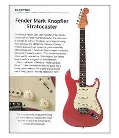 Fender Stratocaster Mark Knopfler Model Fender Stratocaster Guitar Books Mark Knopfler