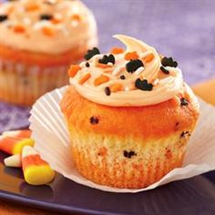 Funfetti® Color Me Halloween Cupcakes