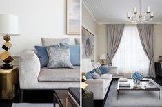 How to create a glamorous and sophisticated interior : elegant luxurious stunning and sophisticated chic interiors: living room design