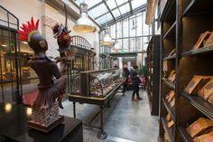 La nouvelle manufacture de chocolat d'Alain Ducasse, rue de la Roquette.
